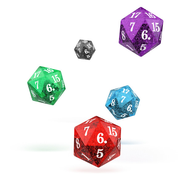 D20 Spindown Speckled